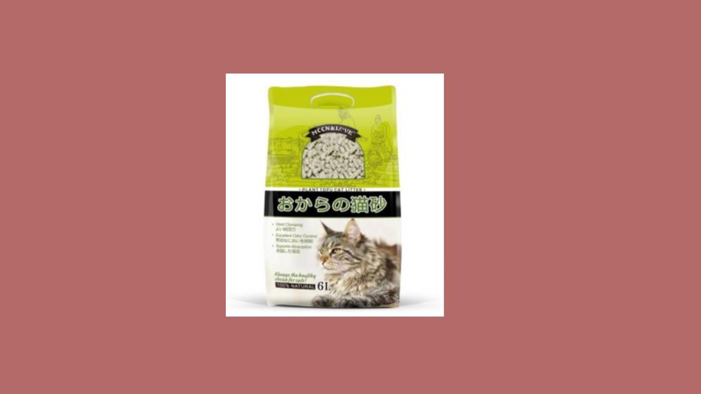 MCCN&LOVE Plant Tofu Cat Litter