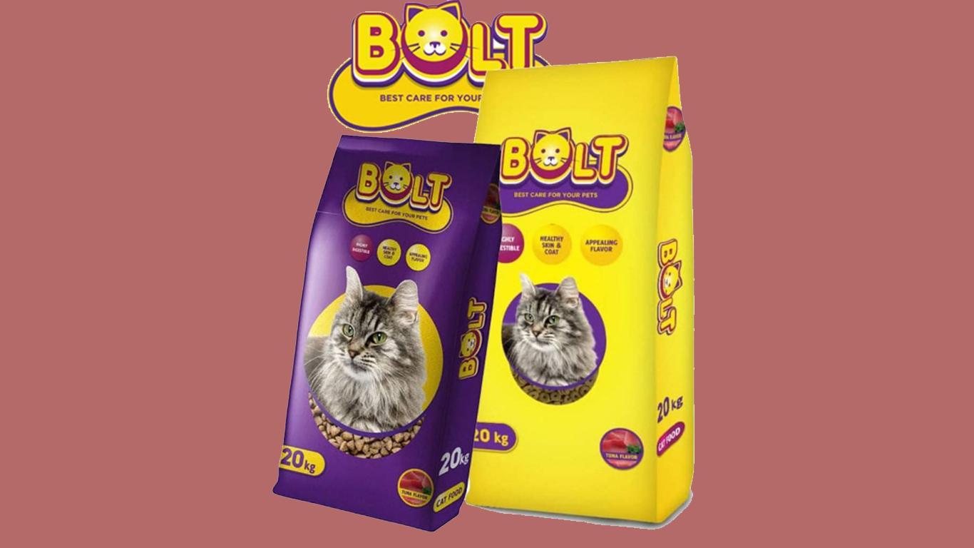 Makanan Kucing Bolt