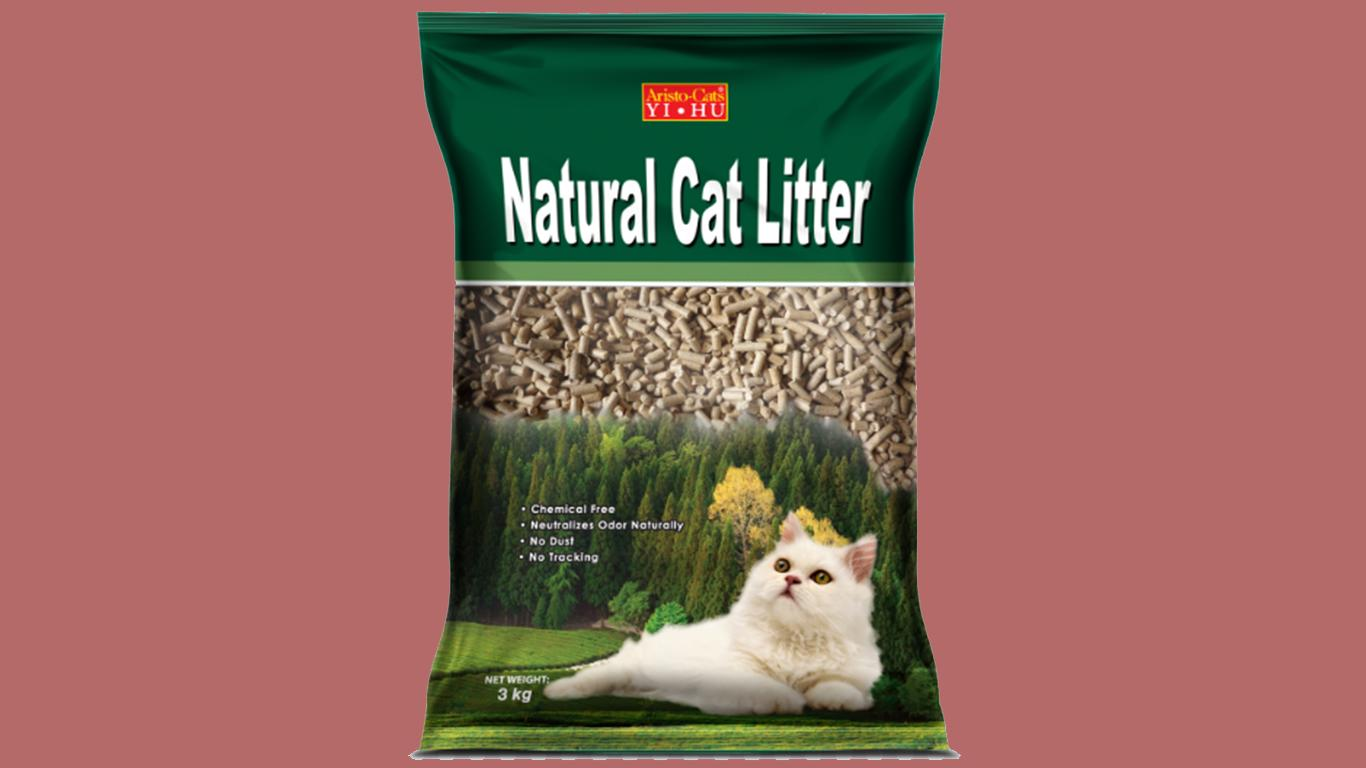 Yihu Aristo-Cats Natural Pine Cat Litter