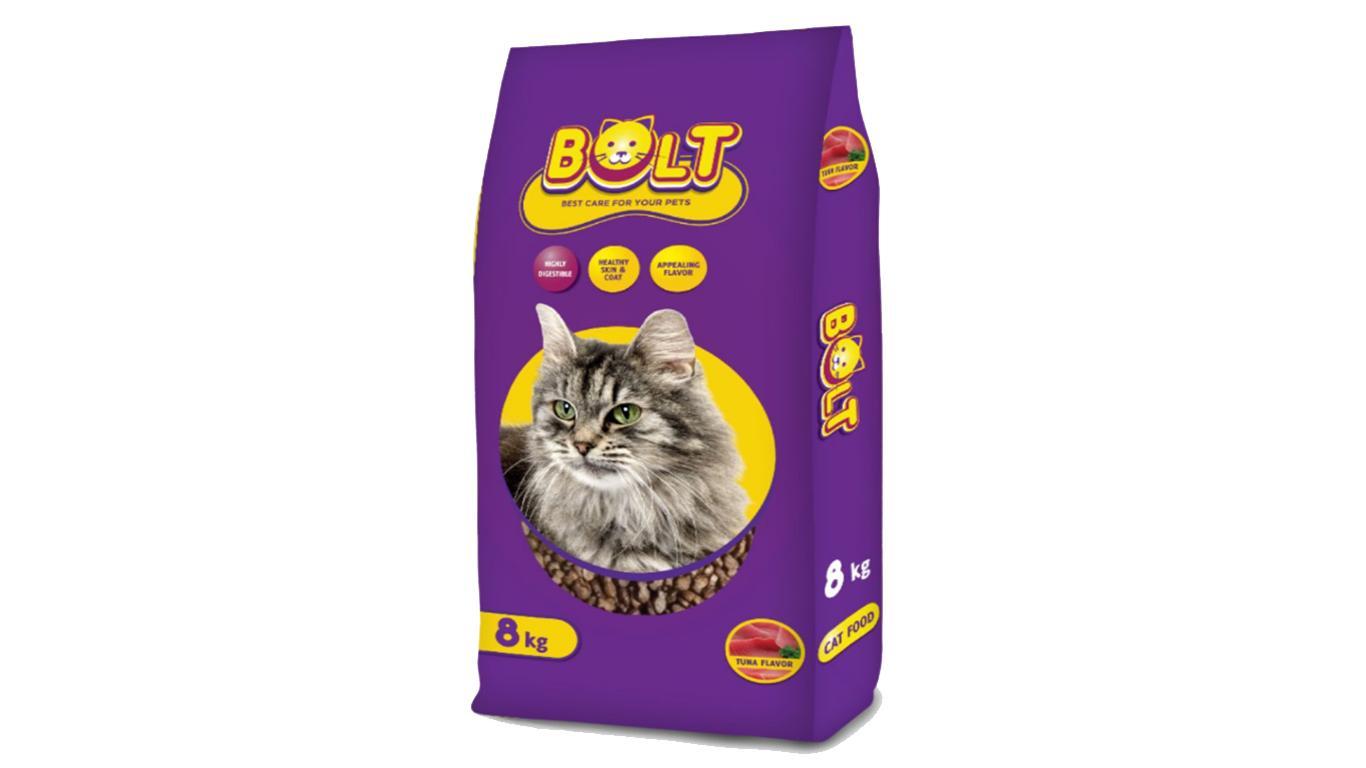 bolt makanan kucing