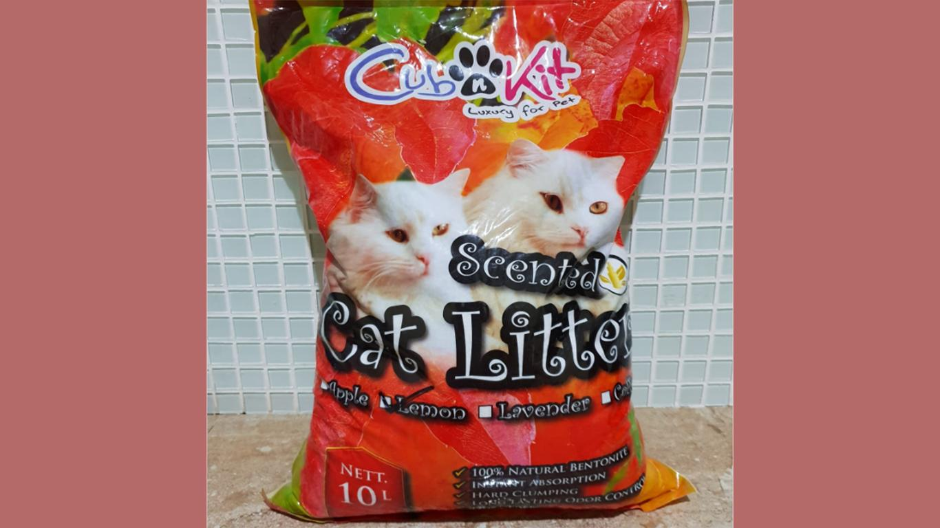 kucing pasir Cub n Kit Cat Litter