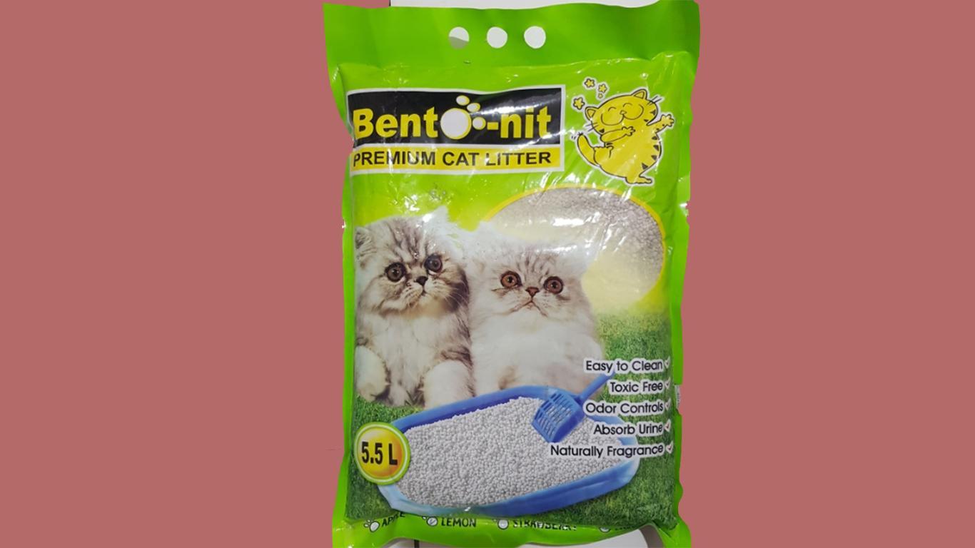 pasir kucing organik Bento-nit Premium Cat Litter