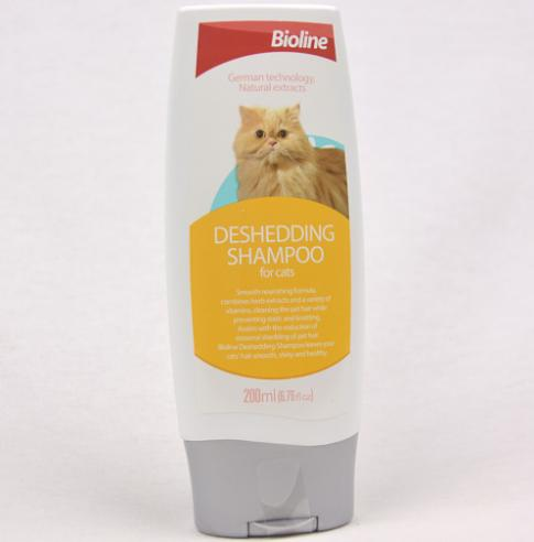 Bioline Deshedding Shampoo for Cats